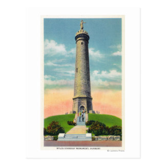 View of the Myles Standish Monument # 2 Postcard