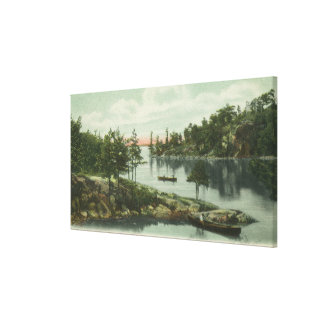 View of the Narrows Gallery Wrapped Canvas
