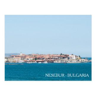 View of the Nesebur City, Bulgaria Postcard