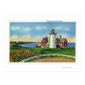 View of the Nobska Lighthouse, Woods Hole Postcard