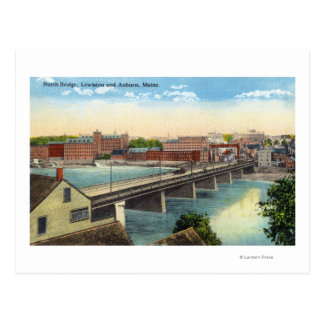 View of the North Bridge Postcard