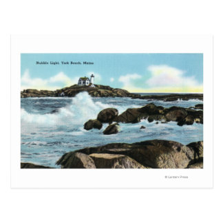 View of the Nubble Lighthouse Postcard
