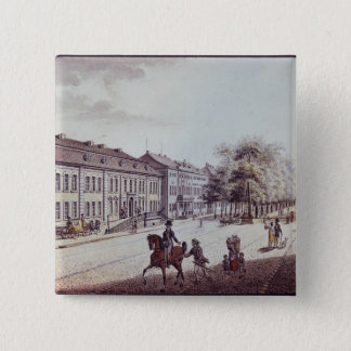 View of the Opera House, Berlin 2 Inch Square Button
