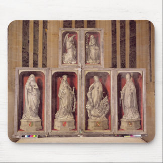 View of the panels of the closed altarpiece mouse pad