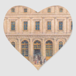 View of the Passazh department store in 1848 Heart Sticker