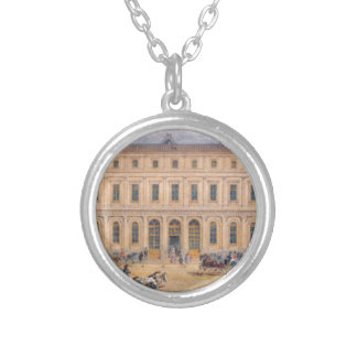 View of the Passazh department store in 1848 Round Pendant Necklace