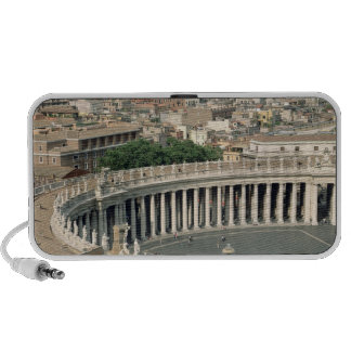 View of the piazza portable speaker