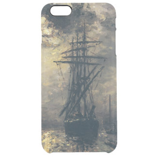 View of the Port, or The Windmills in Clear iPhone 6 Plus Case