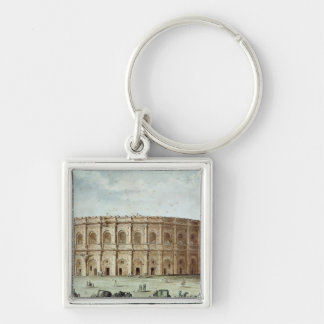View of the Roman Amphitheatre Keychain
