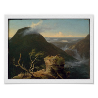 View of the Round-Top in the Catskill Mountains Poster