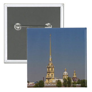 View of the Saints Peter and Paul Cathedral 2 Inch Square Button