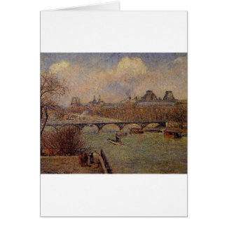 View of the Seine from the Raised Terrace Card