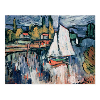View of the Seine Postcard