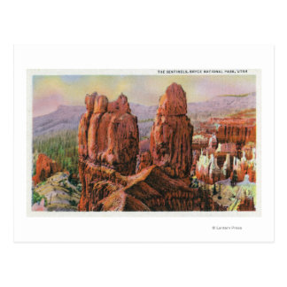 View of the Sentinels Postcard