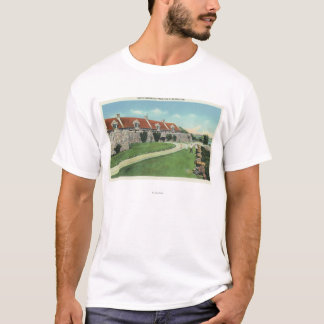 View of the South Barracks from the Flag T-Shirt
