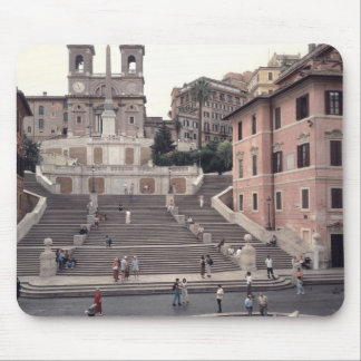 View of the Spanish Steps or Scalinata Mouse Pad