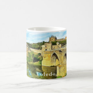 View of the St. Martin Bridge in Toledo. Coffee Mug
