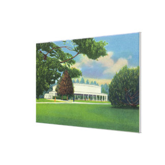 View of the Tanglewood Music Shed and Grounds Stretched Canvas Print