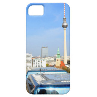 View of the Television Tower in Berlin, Germany iPhone 5 Cover