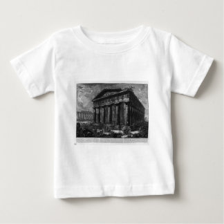 View of the Temple of Neptune by Giovanni Battista Baby T-Shirt
