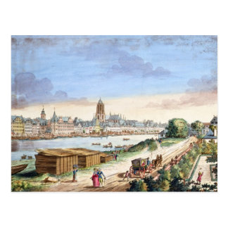 View of the Town of Frankfurt, facing south (print Postcard