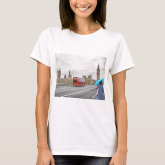 View of the town of London in England UK T-Shirt