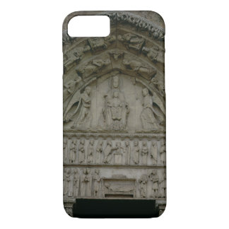 View of the tympanum depicting the Madonna and Chi iPhone 7 Case