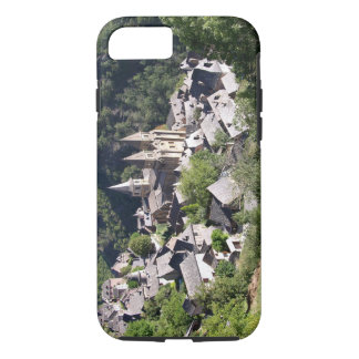 View of the village and the Church of St. Foy (pho iPhone 7 Case