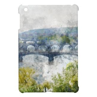 View of the Vltava River and the bridges, Prague, iPad Mini Case