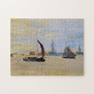 View of the Voorzaan Monet Fine Art Jigsaw Puzzle