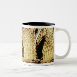 View of the West Front portals Two-Tone Coffee Mug