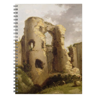 View of the West Gate of Pevensey Castle, Sussex, Notebooks