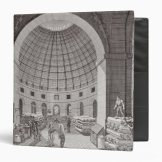 View of the Wheat Market and the Cupola 3 Ring Binder