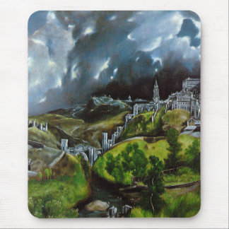 'View of Toledo' Mouse Pad