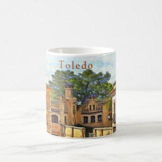 View of Toledo near Santa Maria la Blanca Coffee Mug