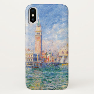 View of Venice by Renoir iPhone X Case