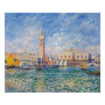 View of Venice by Renoir Poster