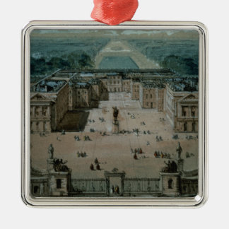 View of Versailles Metal Ornament