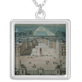 View of Versailles Silver Plated Necklace