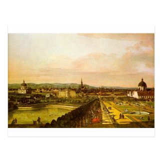View of Vienna from the Belvedere Postcard