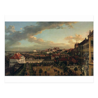 View of Warsaw from the terrace of the Royal Castl Postcard