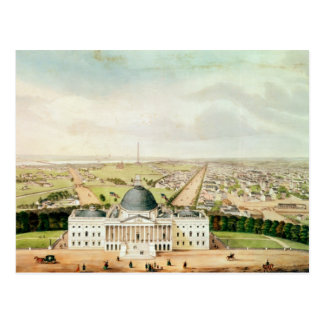 View of Washington Postcard