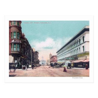 View of Washington StreetOakland, CA Postcard
