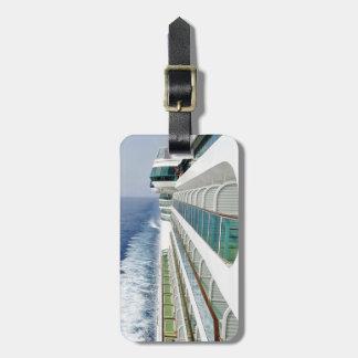 View on Balcony Row Personalzied Luggage Tag