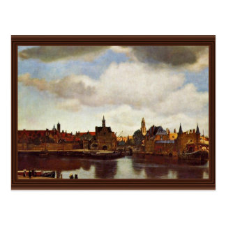 View On Delft, The  By Johannes Vermeer (Best Qual Postcard