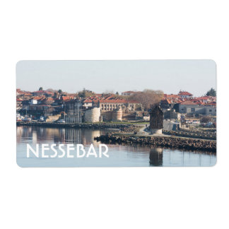View on famous Bulgarian town Nessebar