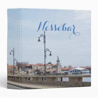 View on Old Town of Nesebur Vinyl Binders