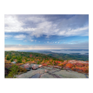 View on the Cadillac Mountain Postcard