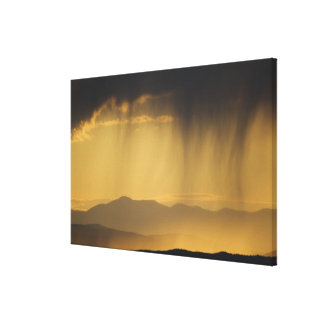 View onto successive hills along the Top of Stretched Canvas Prints