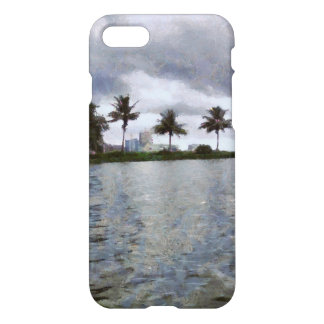 View over a lake iPhone 7 case
